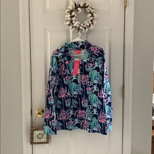 NWT Lilly Pulitzer UPF50+ Captain Popover
